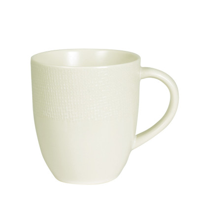 Mug Vésuvio ivoire 30 cl - TABLE PASSION