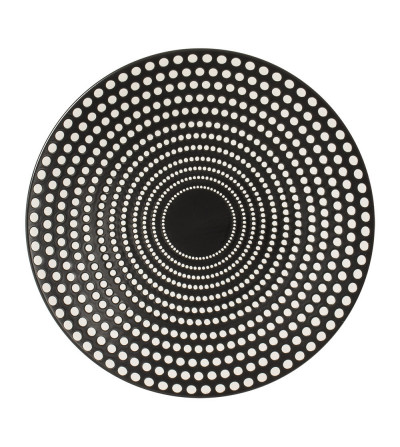 Assiette plate GALAXY pois 27 cm - TABLE PASSION