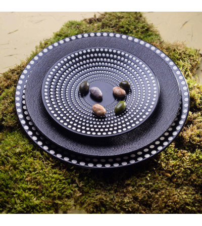 Plat rond GALAXY POIS 31cm - TABLE PASSION